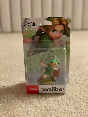 NINTENDO AMIIBO CHILDREN Young link Smash Brothers series