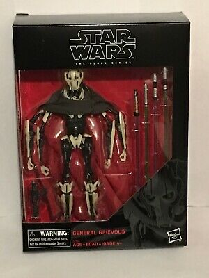 "Star Wars The Black Series GENERAL GRIEVOUS 6"" Action Figure NIB *IN STOCK"