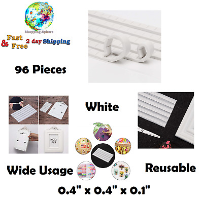 Walls Adhesive Putty Museum Photo Pictures Poster Reusable Sticky Tacky 96 Pcs