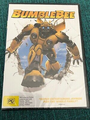 Bumblebee DVD Brand New Sealed PG Special Cover Edition Hailee Steinfield
