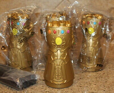 Marvel Avengers Endgame Movie Cup Infinity Gauntlet theater cup promo endgame