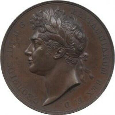 Antique Coin Great Britain George IV (1820-1830) Coronation Bronze Medal 1821