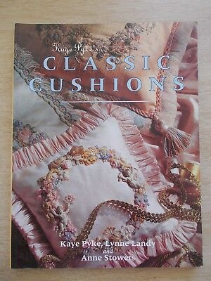 Kaye Pyke's Classic Cushions~Embroidery Patterns~128pp P/B