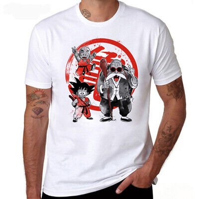 ae779a98 New Men Women 3d Print Anime Goku T-shirt Dragon Ball Z Master Roshi Tee
