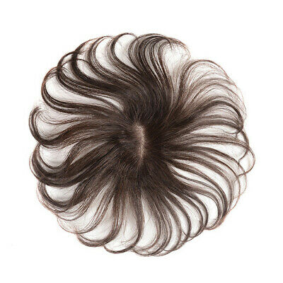 Wavy Curly Top Hair Clip in 100% Human Hair Topper Hairpiece Top Hair Women