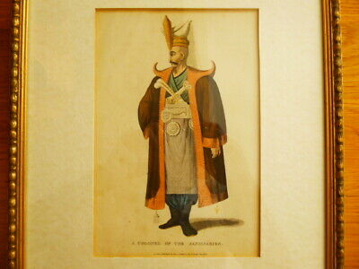 Antique Ottoman Turkish Janissary Print Islamic Military Engraving Middle East