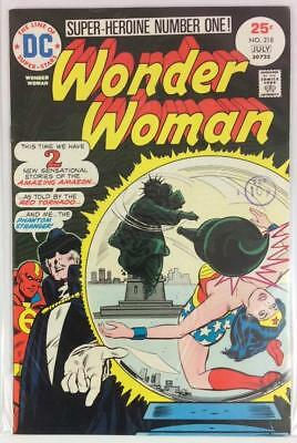 Wonder Woman #218 Bronze Age Classic (DC 1975) VF condition.
