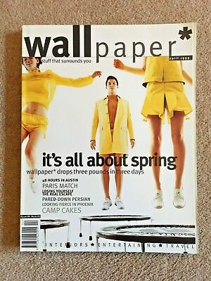 WALLPAPER magazine issues #18 Tyler Brule EXCELLENT CONDITION