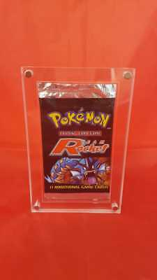 Pokemon Standard Booster Pack Protective Display Case/Trading Card/Support Stand