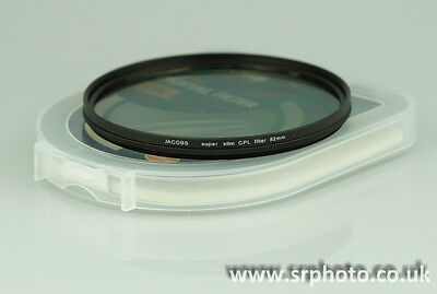 Slim 72mm Circular Polarising Filter Polarizer UK CPL Kenko Pro1 D Hoya B&W