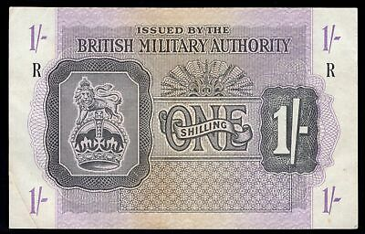 GB Military. British Military Authority. 1 shilling. (1943). R = Greece. (Pic...