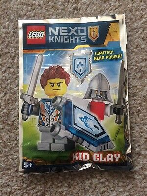 271608 ⭐️BRAND NEW LEGO NEXO KNIGHTS LIMITED EDITION KID CLAY SEALED PACK ⭐️