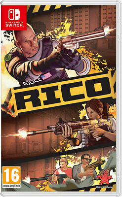 RICO SWITCH ***PRE-ORDER ITEM*** Release Date: 17/05/19