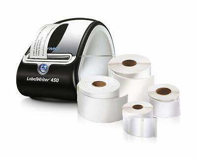 DYMO LabelWriter 450 Super Bundle - Label Printer with 4 rolls of Shippi...