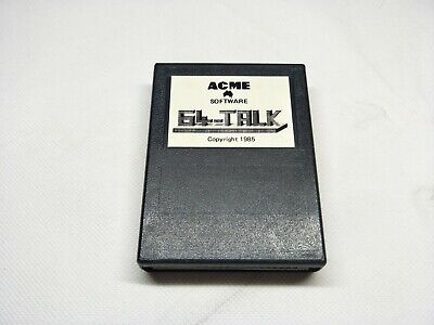 Acme Software 64-Talk Cartridge - Commodore C64 - Vintage Computer Software