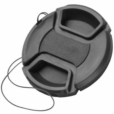 58mm Front Lens Cap Hood Cover Snap-on For Canon Sony Olympus Nikon Camera