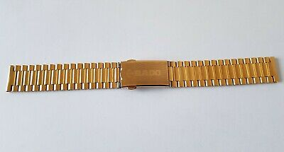 New 18Mm Rado Diastar Golden Gents Watch Strap.