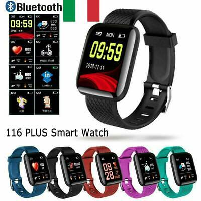 Smart Bracelet Smartwatch Android iOS Bluetooth GPS Sports Waterproof 116Plus