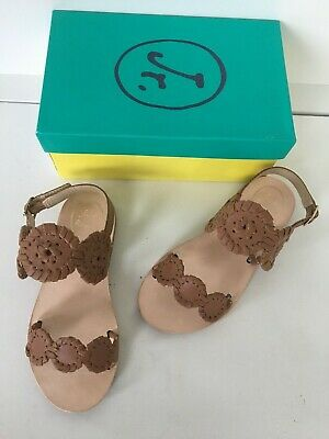 d625db19d18 JACK ROGERS GIRLS miss Lauren White sandals size 3 youth new ...