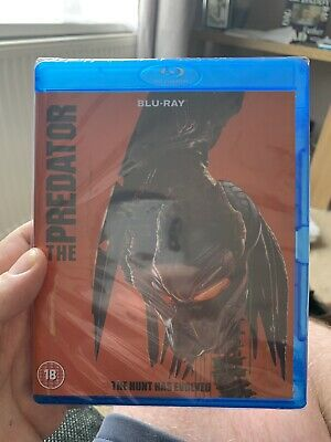 The Predator Blu Ray (2018)