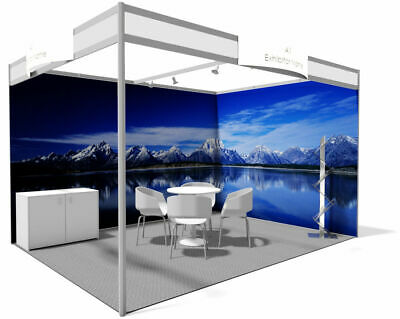 Exhibition Display Shell Scheme Graphics Printed Panels Posters Foamex PVC