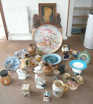 31 Pieces Of Antique Pottery. Some Very Rare. Genuine Reason For Sale
