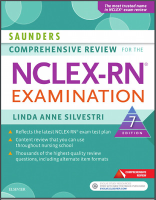 Saunders Comprehensive Review for the NCLEX-RN® Examination 7th Edition(PDF)
