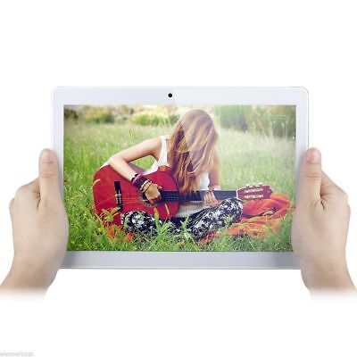 """10,1"""" Android Tablet PC Octa core 2G+16G Dual Card Dual Kamera WiFi Silberm H"""