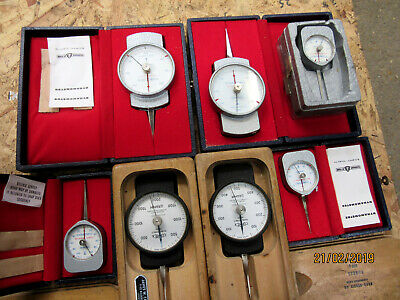 7 OFF DYNAMOMETERS ALL In ORIGINAL CASES