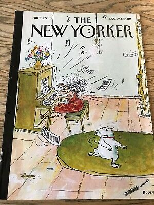 The New Yorker Magazine,Jan 30 2012