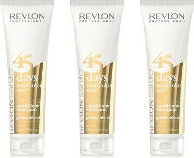 Revlon Professional Revlonissimo 45 Days Total Color Care Golden Blondes 3x275
