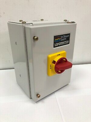 New Dorman Smith 20Amp TPN Housed Switch Disconnector TP&N ON/OFF Isolator