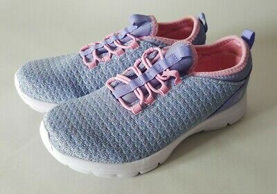 589b7a5dc Champion Girl Tennis Shoes 2 1 2 Light Weight Memory Foam purple with pink.