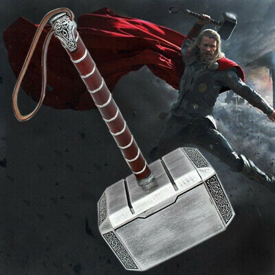 New The Avengers Thor Hammer 1:1 Cosplay Props PU Weapon Toys Model Replica Gift