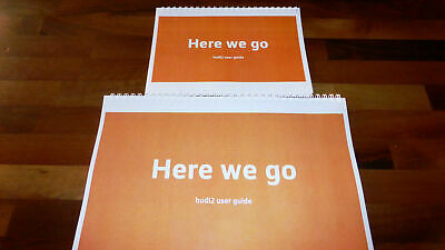 Printed Tesco Hudl 2 Instruction Manual user guide Full Colour A4 or A5