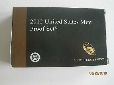 2012 United States Mint Proof Set 14 Coins With Coa