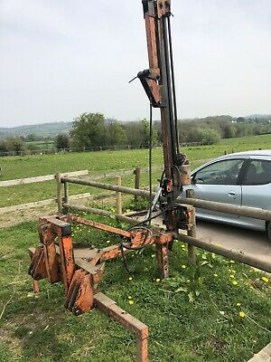 Parmiter post knocker - tractor 3 point linkage