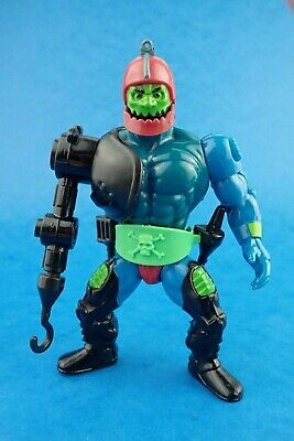 Vintage Action Figure MASTERS OF THE UNIVERSE - TRAPJAW Complete 80's He Man Toy
