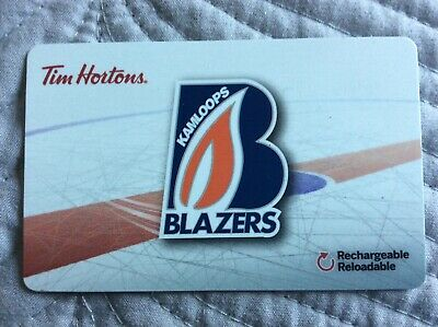 Tim Hortons Collectable Gift Card - Kamloops Blazers