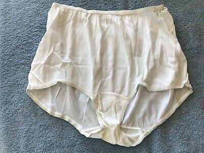 Unbranded 100% Acetate Hipster Brief Panties 8 XLarge 40 NWT USA