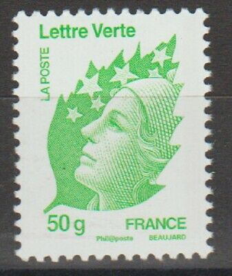 "Timbre  neuf** Marianne de Beaujard ""Lettre verte"""