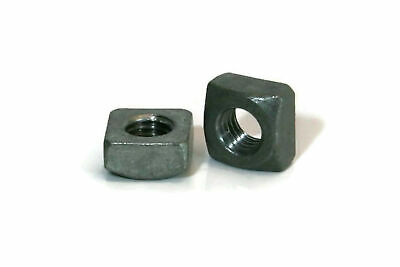 Hot Dip Galvanized Steel Square Nuts - Four-Sided Nuts - Coarse - Select Size