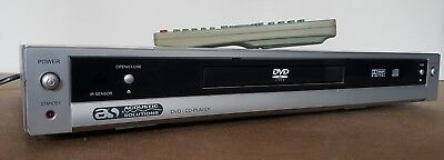 Accoustic Solutions Dvd-237 Dvd Player Silver With Remote