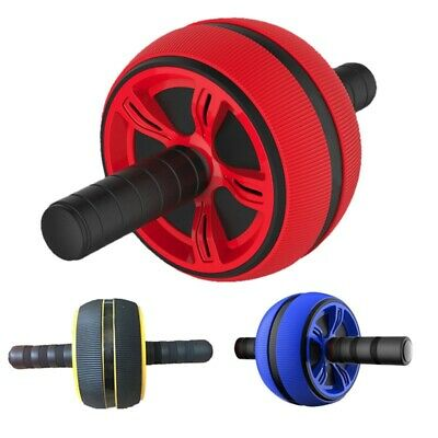 Gran rueda silenciosa Tpr Abdominal Wheel Roller Trainer Fitness Equipment  K6S6