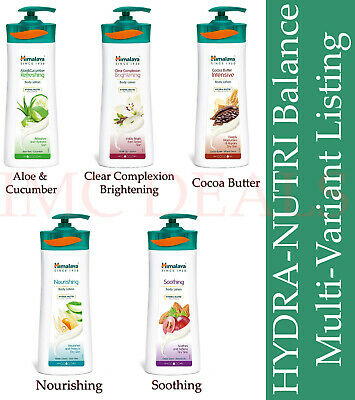 Himalaya Herbals Body Lotions Aloe & Cucumber, Intensive, Nourishing, Soothing