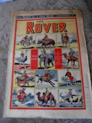 Rare Comic The Rover No. 1278 December 24th 1948 Christmas Issue