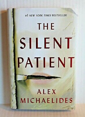 The Silent Patient by Alex Michaelides (2019, Hardcover Book) Mystery Thriller