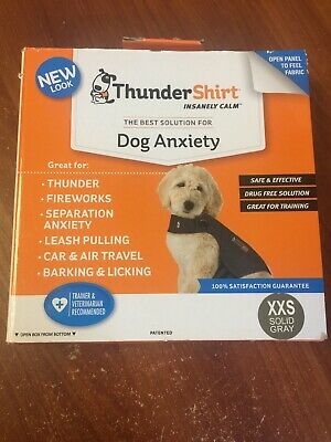 BRAND NEW!! ThunderShirt Insanely Dog Anxiety XXS for dogs  7 lbs