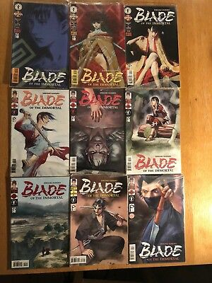 Blade Of The Immortal Manga comic books - As new, excellent condition