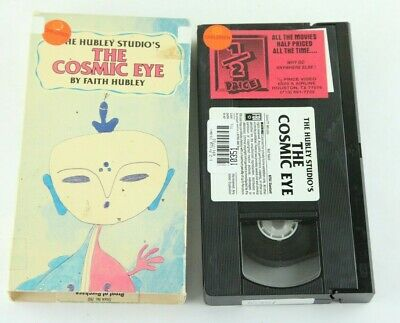 Faith Hubley Studios The Cosmic Eye VHS Buena Vista Home Video Animation